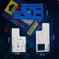 MECHANIC 3D BGA Reballing Stencil Kit for iPhone X Motherboard Middle Layer Planting Tin Template Reballing Plate Soldering Net