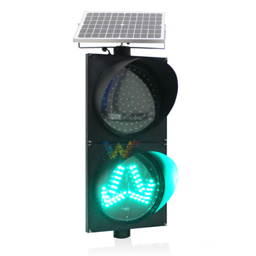 300mm solar power Road Sign traffic light