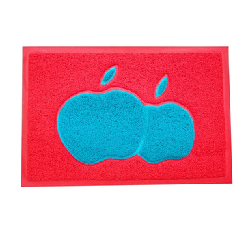 PVC joint door mat colorful loop mat
