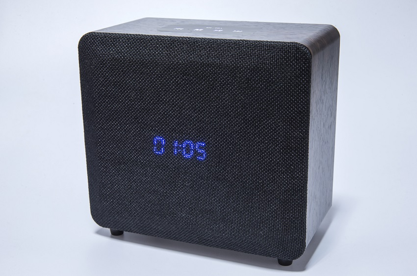 Alarm Clock Bluetooth Speaker