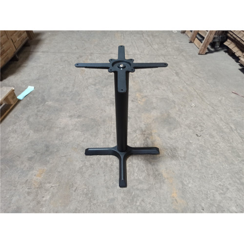 22''X22'' cross cast iron table base