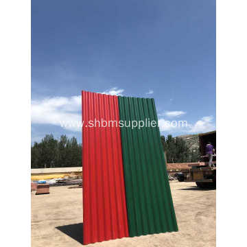 100% Non-Asbestos Anti-typhoon Mgo Roofing Sheet