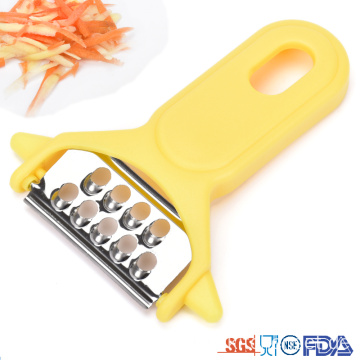 Kitchen Mini Plastic Multi Functional Potato Cassava Peeler