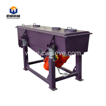 high output linear silica sand vibrating screener