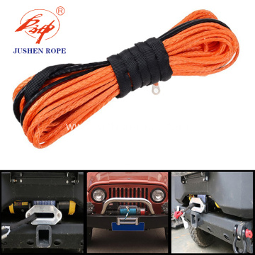 Custom Color Uhmwpe 12-strand Winch Rope
