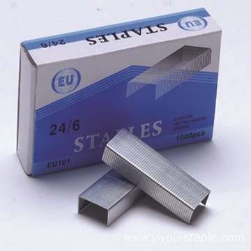 Metal Silver Stainless Steel 24/6 Office Staples