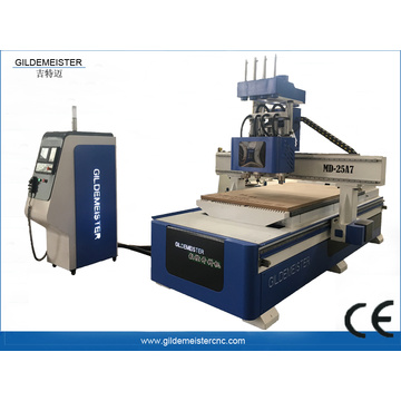 Triple Spindles CNC Router Machine