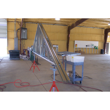 cold-formed steel roof trusses