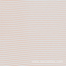 100% Rayon Pink Striped Girls Blouse Fabrics