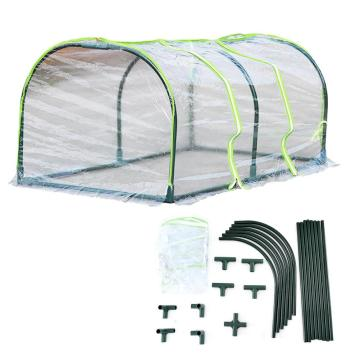 Mini Transparent Cover Multi-meat Shed Greenhouse Flower Stand Flower House Insulation Shed Rain Awning PVC Garden Warm Room