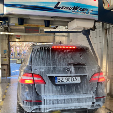 Touchless car wash cost