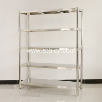 Stainless Steel Floor Commodity Shelves Concise Durable