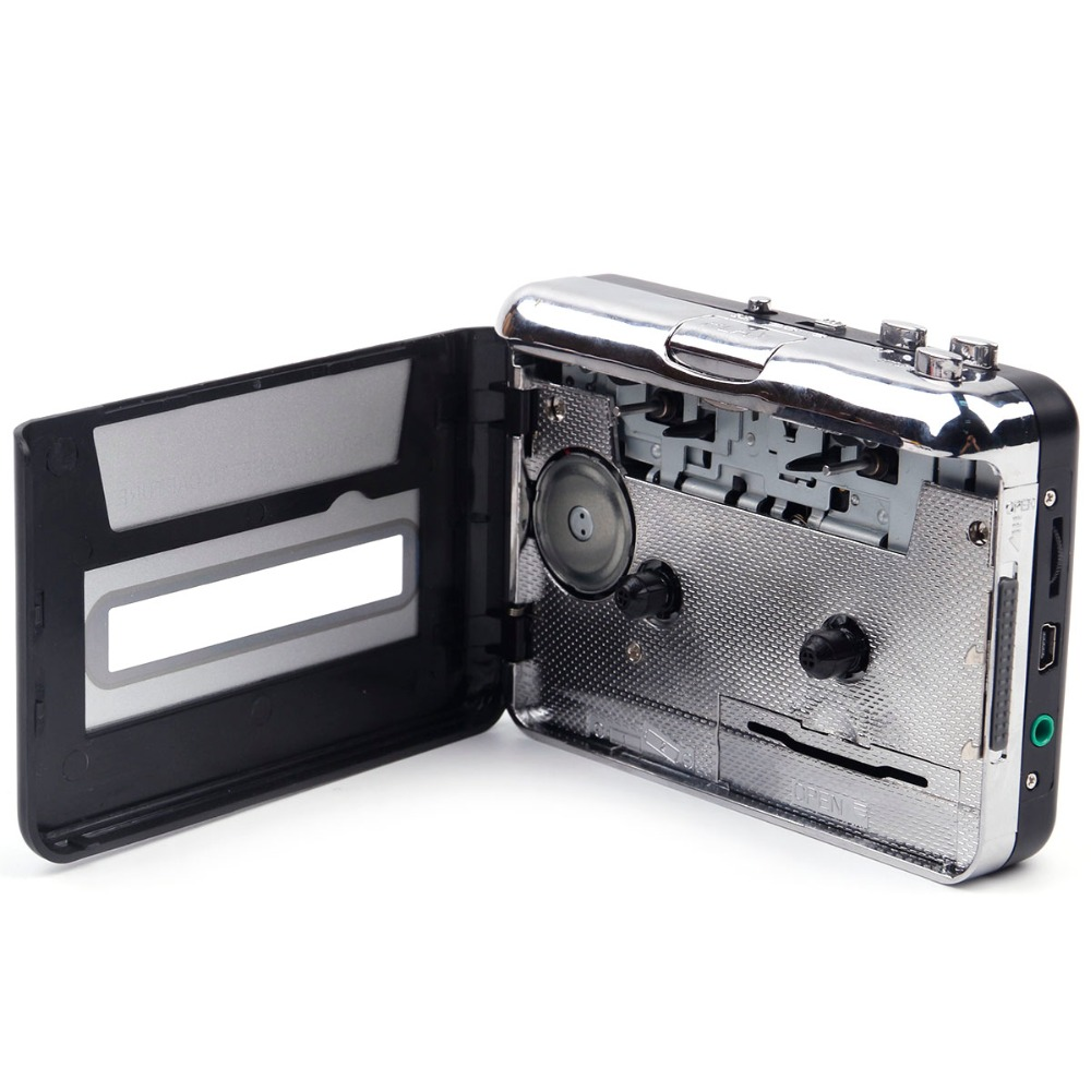 Portable Cassette Recorders & Players USB Tape PC Super MP3 Music Player Audio Converter Recorders Players Cassette-to-MP3