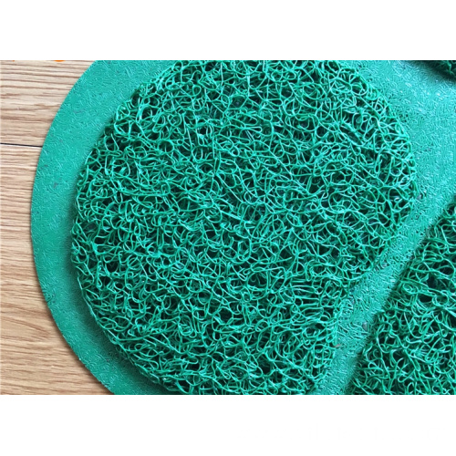 Durable and funny PVC coil mat hollow surface