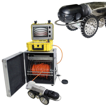 Robot Crawler Cameras used for Pipeline Inspection