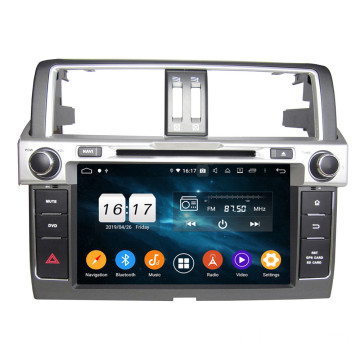 Prado 2014 සඳහා android auto dvd player