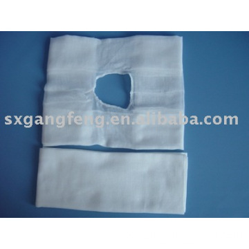 Gauze Towel with Hole