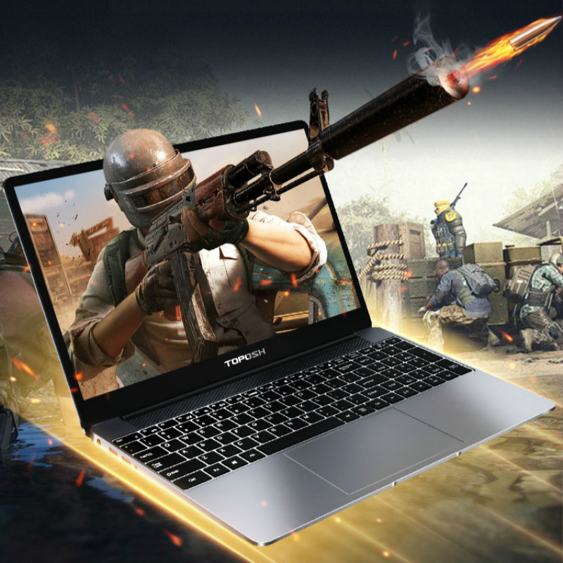 15.6 Inch 8G RAM i7-8550U Metal Laptop SSD Netbook Business Office Portable PC Computer 8th Generation i7 CPU Gaming Notebook