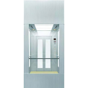 Machine Room Residential Glass Panoramic Observation Lift