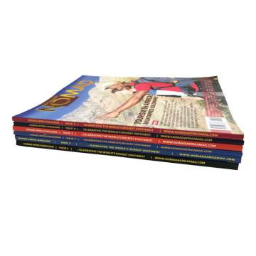 Glossy Lamination Custom Paper Catalogue Brochure Booklet
