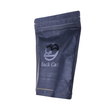 Custom services coffee packaging bag with a bio degassing valve