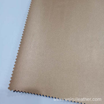 Highly Textured Lambwoven PU Leather