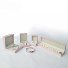 Pink jewelry gift box set for Ladies