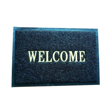 Bahan kustom PVC back floor welcome mat