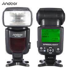 Andoer AD-960II Universal Flash Speedlite LCD Display On-camera Camera Speedlight GN54 for Nikon Canon Pentax DSLR Camera