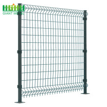 Wholesale High Quality PVC Coated Triangle Bending Fence