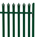 cheap decorative palisade fence for garden decoration