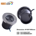 9W DMX LED Underground Lamp For Park Lighting