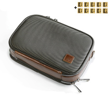 DD ddHiFi C-2020 Customized HiFi Carrying Case Storage Bag for Audiophiles,DAP, DAC and Headphone Protective Case(Brown)