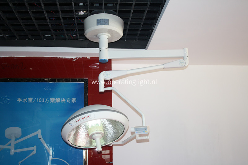 Patient surgical halogen light