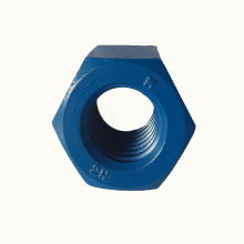 Grade4 Brass Carbon Steel Hex Heavy Nut Din