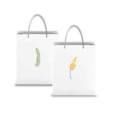 Luxury Gift Paper Bag With Handle Design