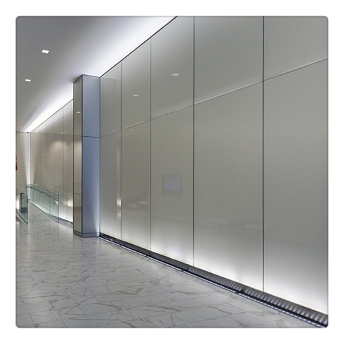 Reflective Tempered Glass For Exterior Building Glass Walls