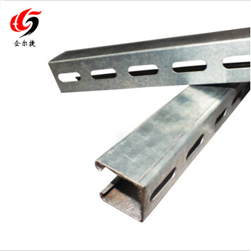 Slotted channel c channel unistruct channel