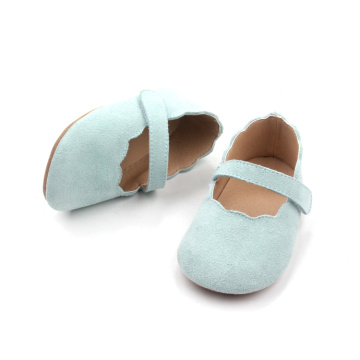 Green Baby Girl Shoes Toddler Mary Jane Shoes