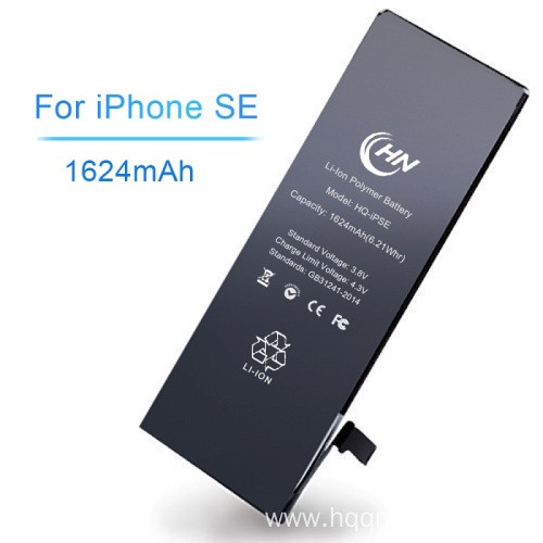 New replaceable li-polymer iphone battery SE