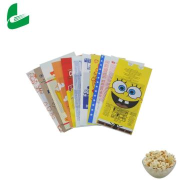 Packaging Custom Logo Wholesale Best Selling  Microwave Popcorn Paper Bags