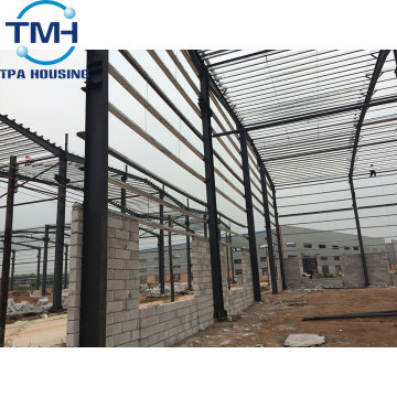 prefab low price steel structure workshop