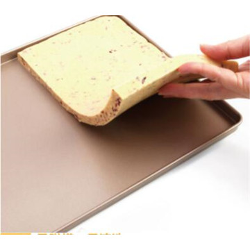 High quality Cookie tray champagne nonstick cookie sheet