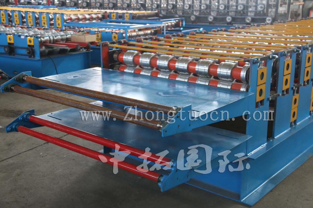 Double Layer Roof Producing Manufacturing Line