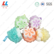 shower pouf flower bath pouf exfoliating bath sponge