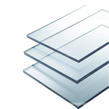 4mm clear solid flame resistant polycarbonate panel