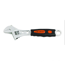Rubber Grip Adjustable Wrench