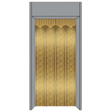 Lift / Elevator Decoration , Mirror Finish , Passenger Lift Decoration