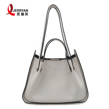 Genuine Leather Tote Hobo Shoulder Bags with Zipper