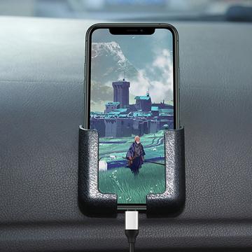 Car Holder For Phone Car center console mobile phone holder adjustable width charging car navigation rack Mobile Stand Smartp
